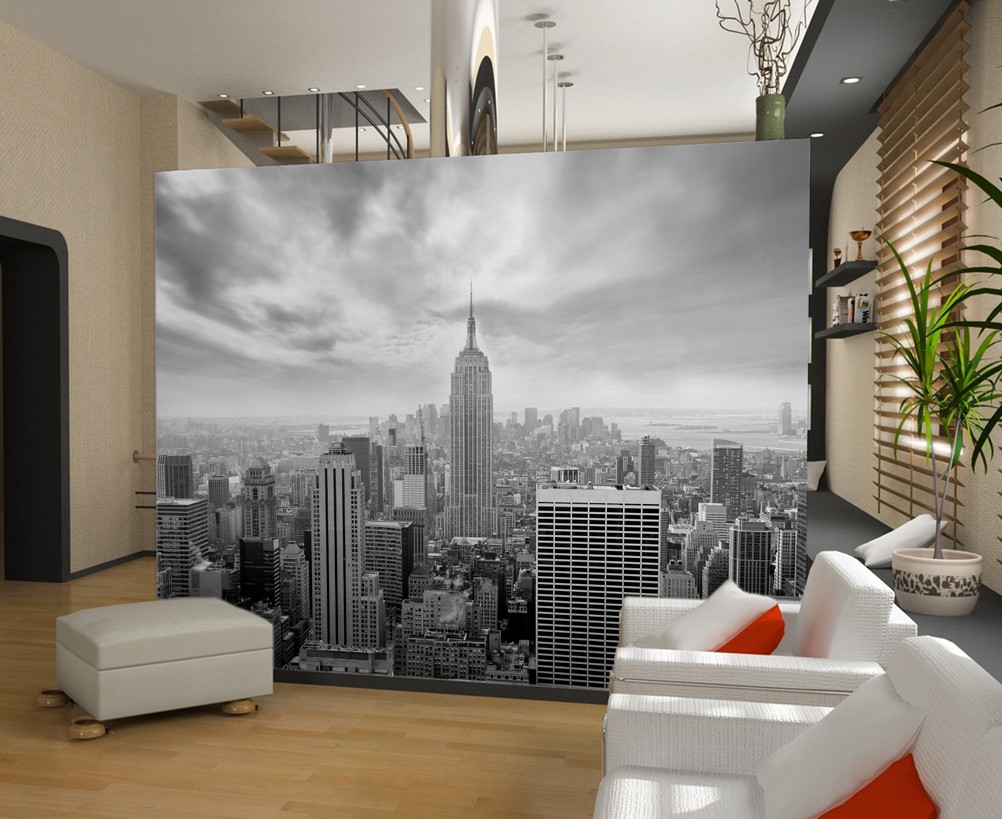 Papier peint new york chambre for Deco de chambre new york