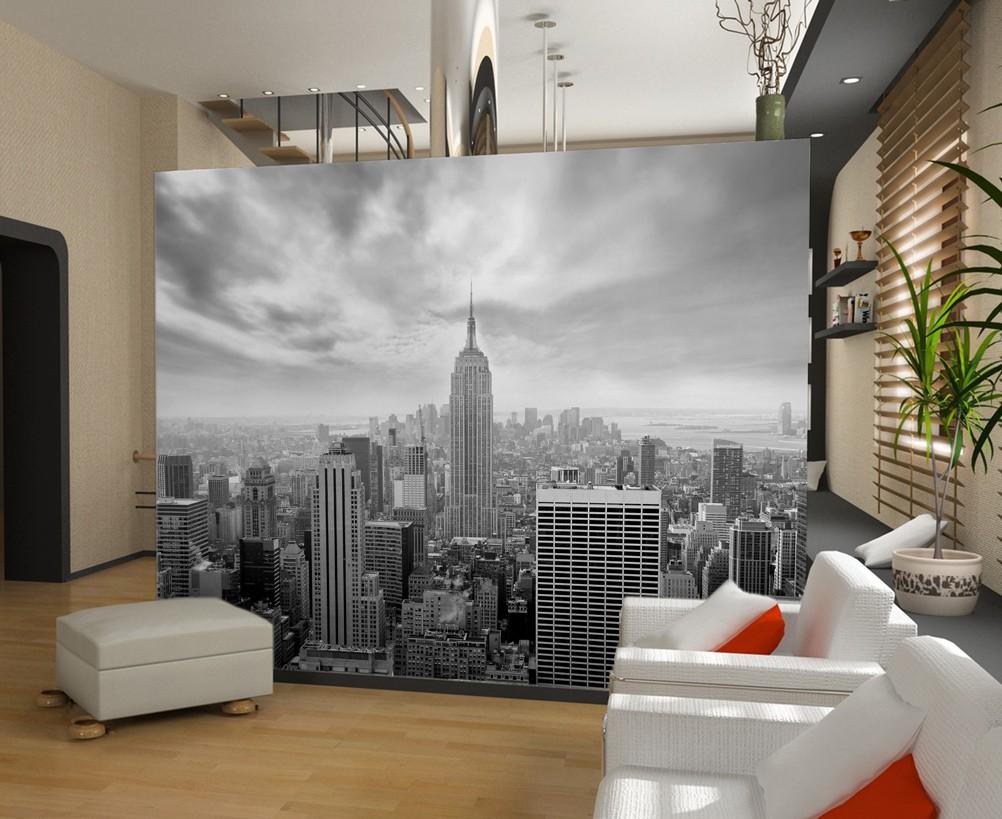 je ne veux que mon papier peint new york
